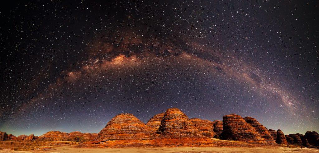 Credit: Tourism Western Australia. Bungles Milkyway Western Australia.