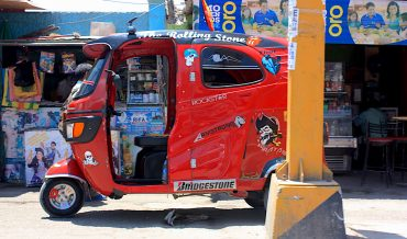 Tuk a ride on the Pan-American Highway