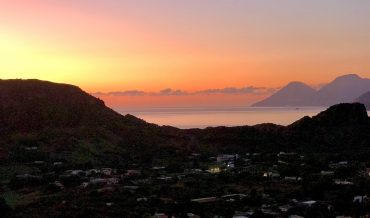 Volcanic sunsets in the Mediterranean: Dreaming of the Aeolian islands during lockdown