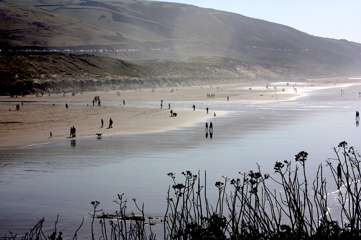 Chalkmarks Burn on the beach: Why North Devon is perfect for a week of exercise and diet