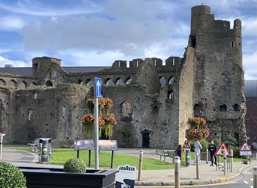 Swansea Castle also known as Castell Abertawe