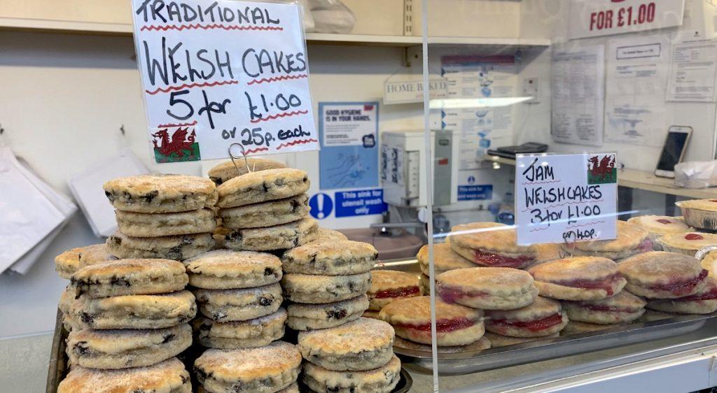 Welsh Cakes in Swansea Market