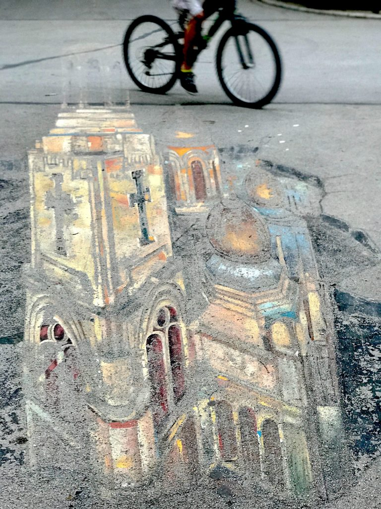 Chalkmarks Leave behind the drama, it's calmer in Varna