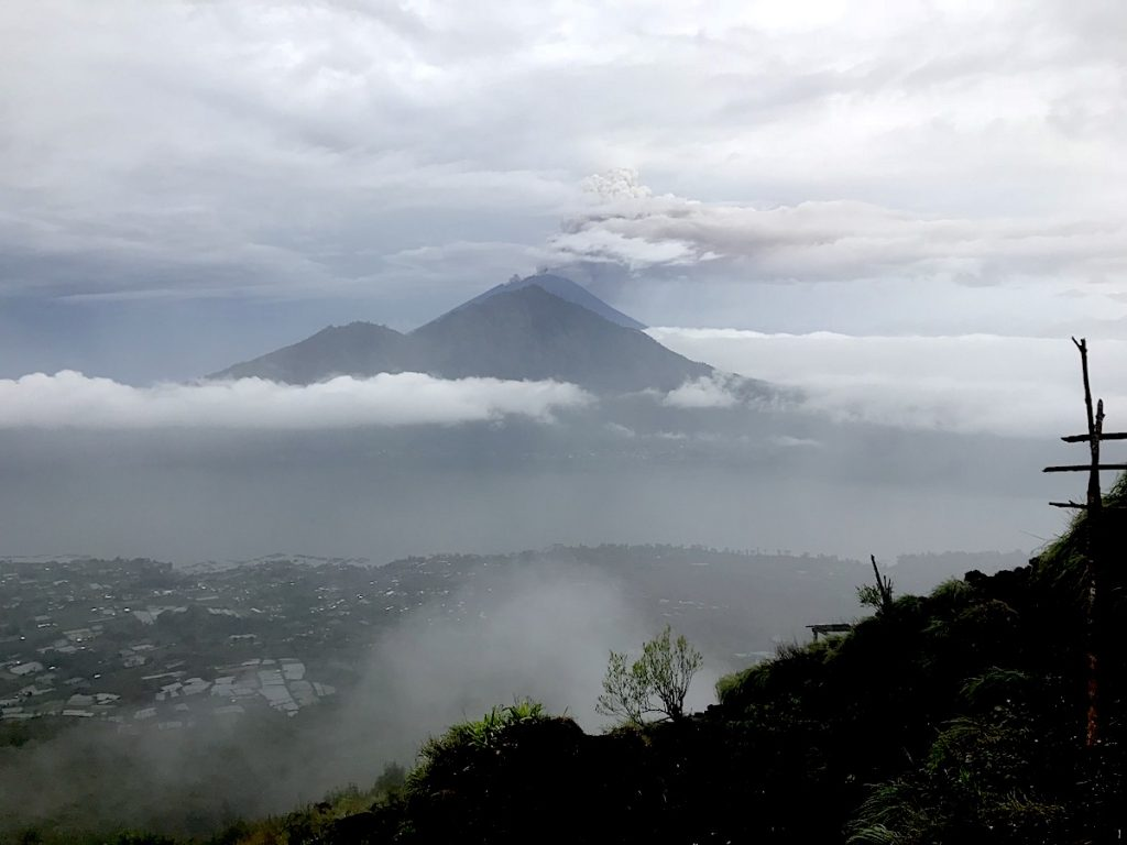 Chalkmarks Postcard from Bali:How to survive a volcano