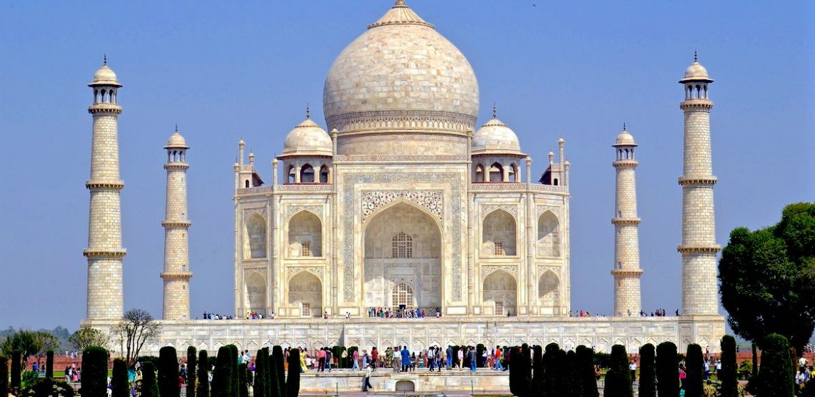 The Taj Mahal became a Unesco World Heritage Site in 1983