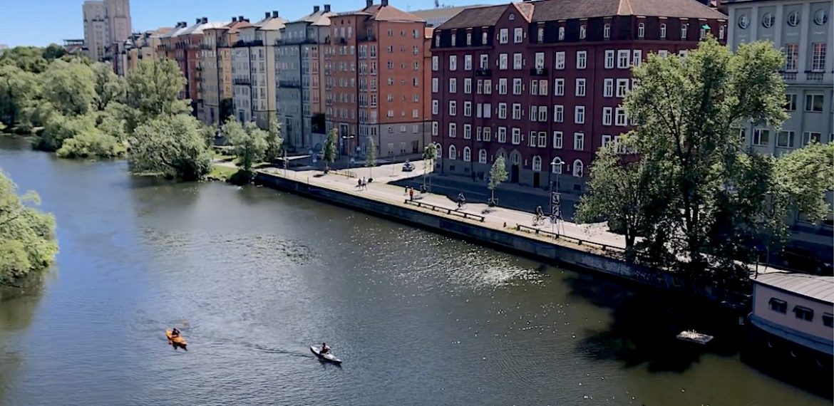 Chalkmarks All at sea in Stockholm the city of islands